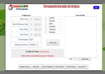 Gerador de Números Para Lotofácil Configurável